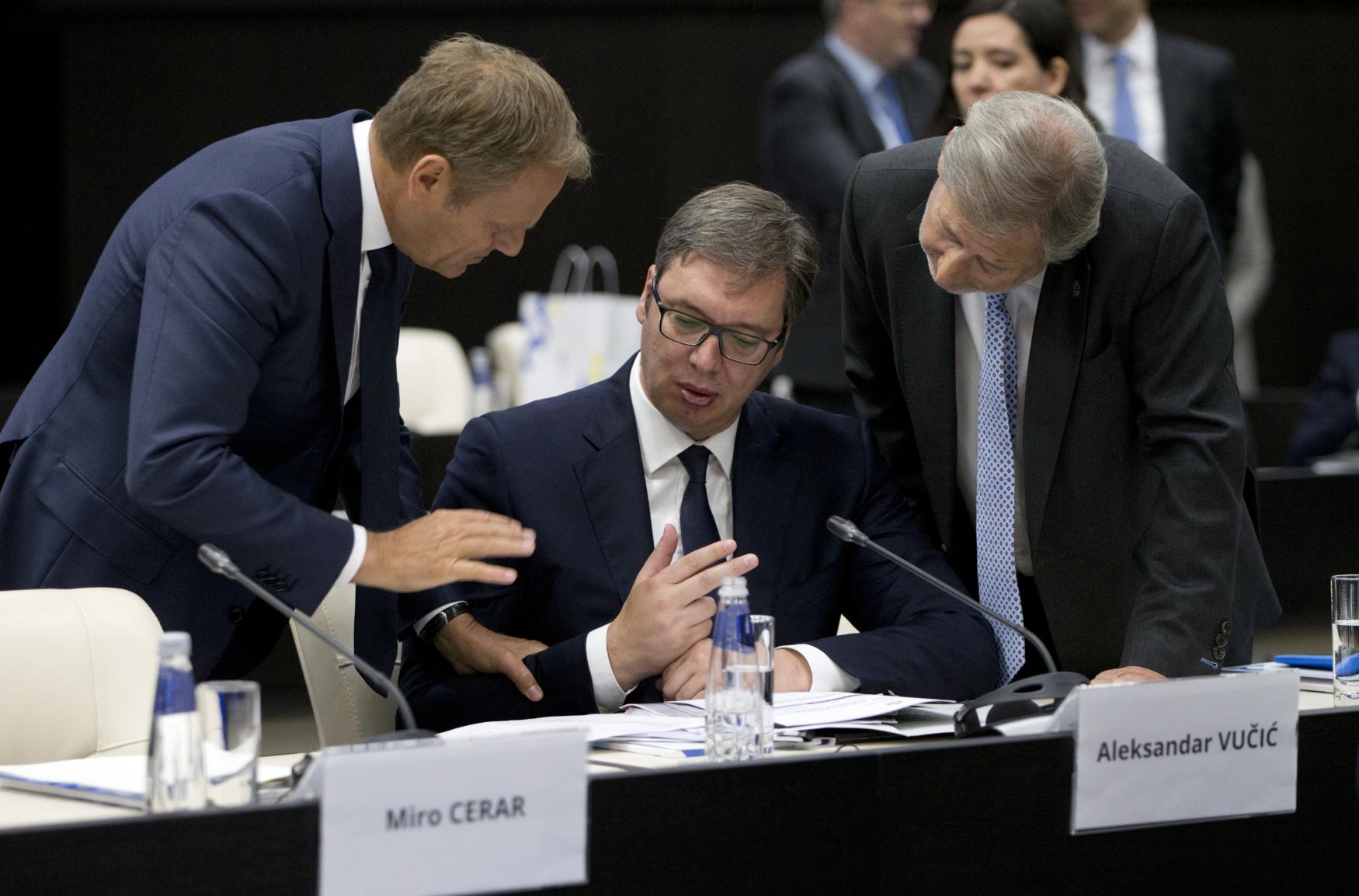 Aleksandar Vučić shrnul rozšířené obavy řady členských států EU