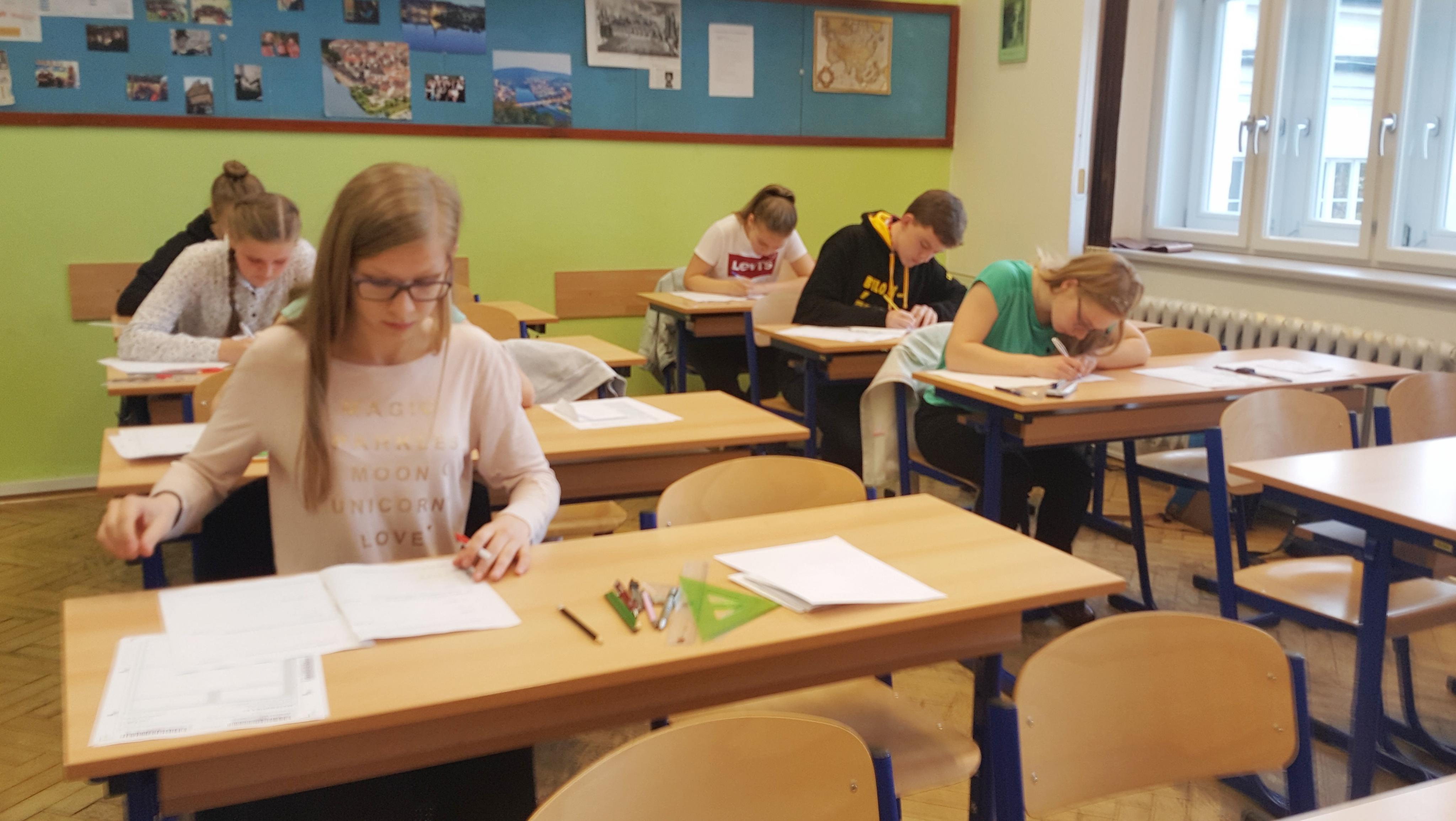 Přijímací zkoušky na gymnáziu v Jindřichově Hradci