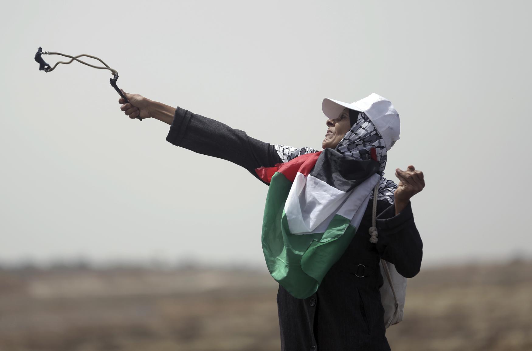 Demonstrace v Gaze
