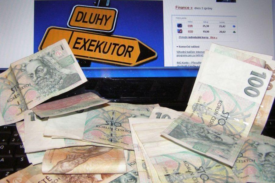 Dluhy, exekuce (ilustrační foto)