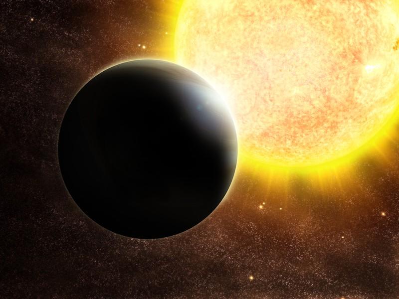 Takovéto snímky exoplanet bývají jsou jen umělecká vyobrazení. O skutečné fotografie se nejedná.
