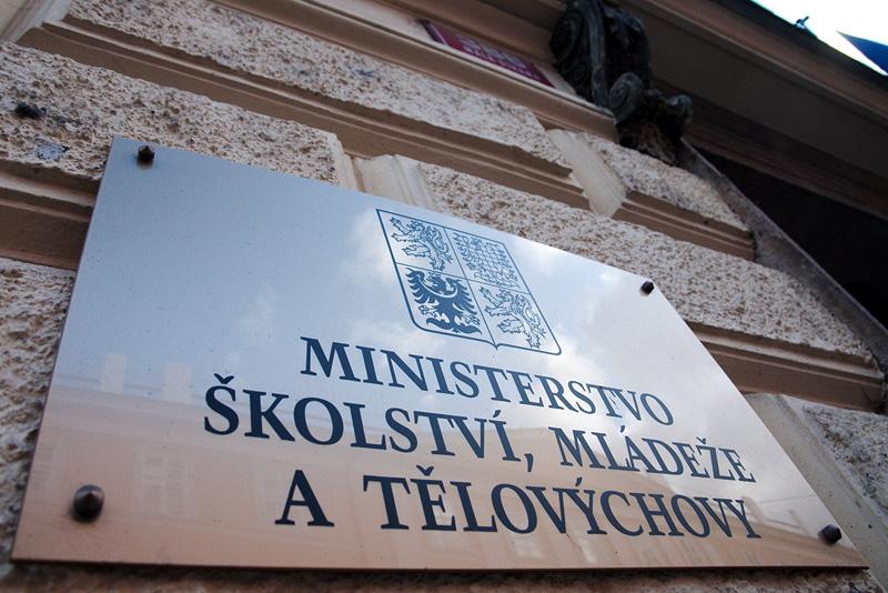 Ministerstvo školství, mládeže a tělovýchovy. Ilustrační foto.