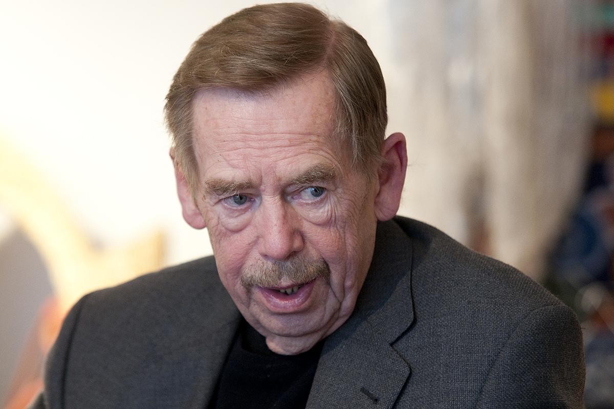 Václav Havel se považuje za klidného člověka