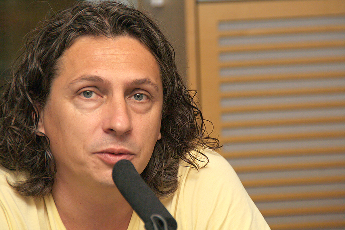 Hostem Radiožurnálu byl Robert Mikoláš
