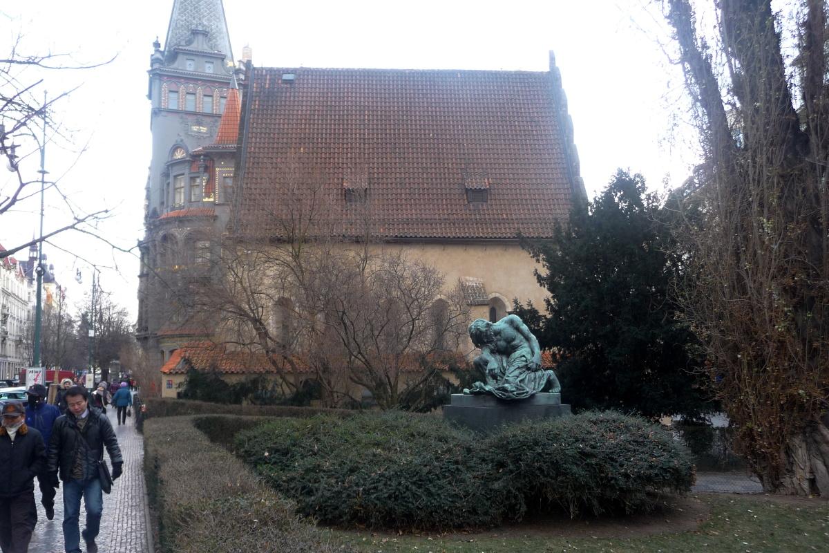 Staronová synagoga je nejstarší funkční synagogou v Evropě
