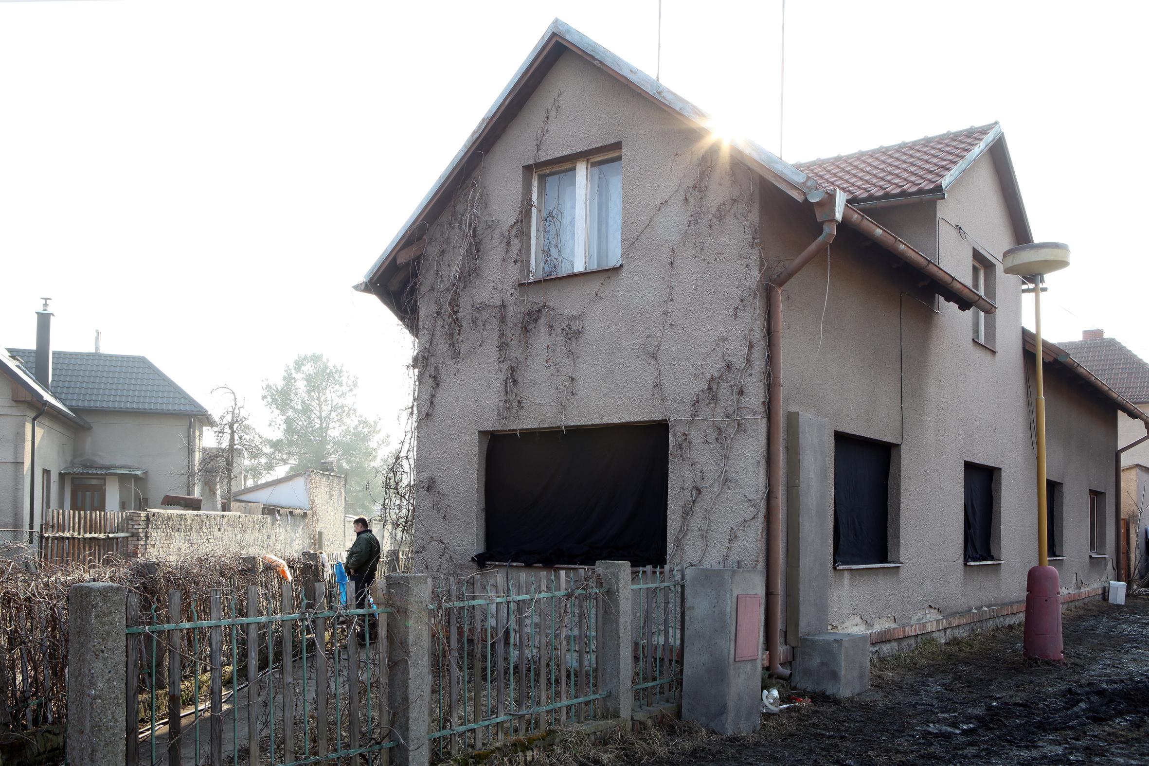 Rodný dům Jana Palacha ve Všetatech na Mělnicku
