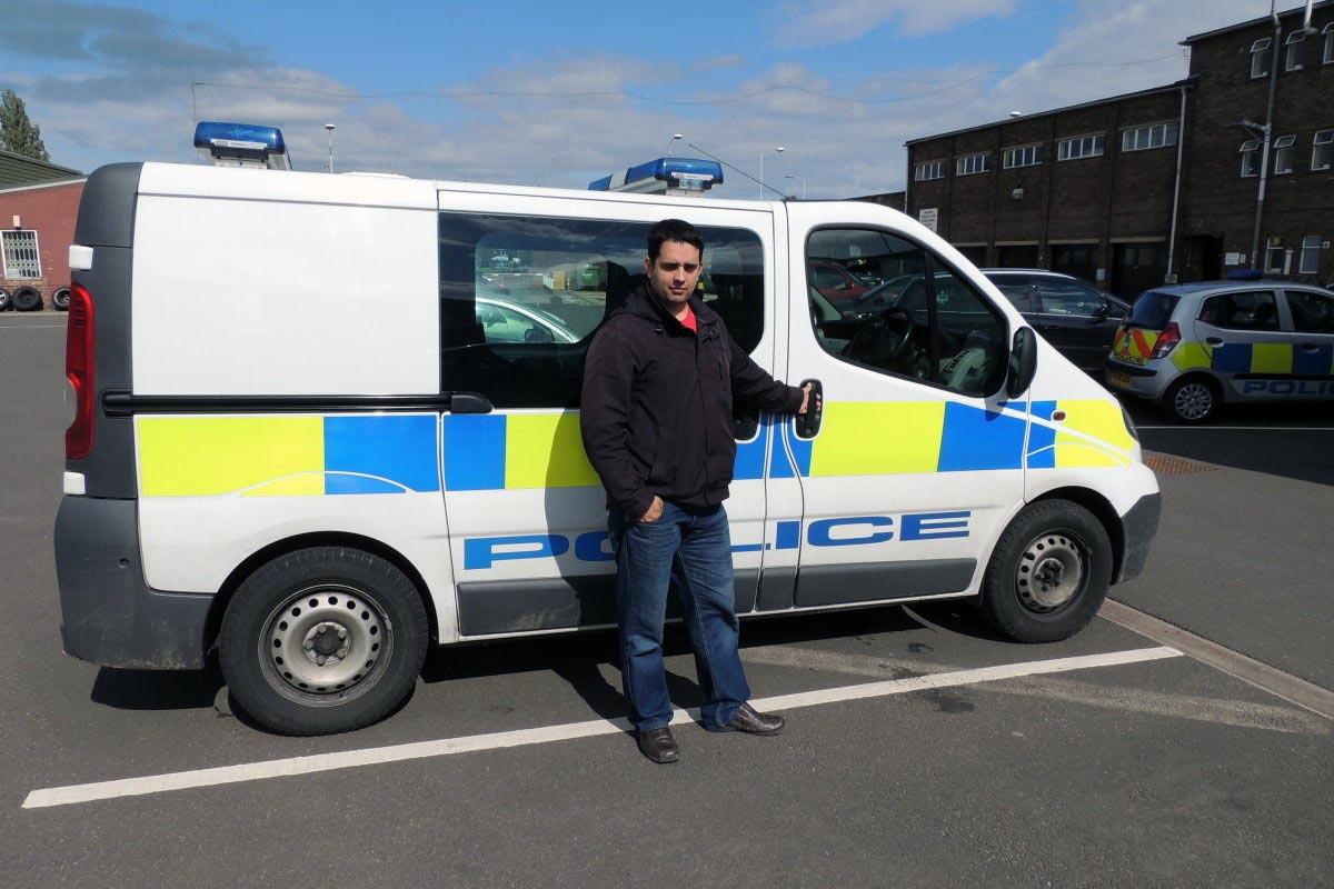 Petr Torák pracuje jako policista