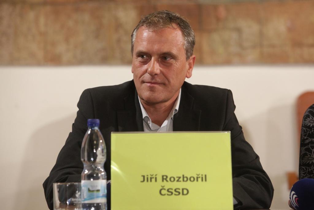 Jiří Rozbořil (ČSSD). Předvolební debata z Olomouckého kraje