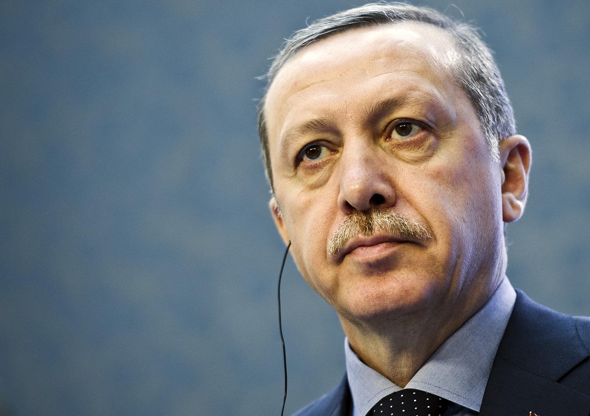 Turecký premiér Recep Tayyip Erdogan se setkal s ministerským předsedou Petrem Nečasem
