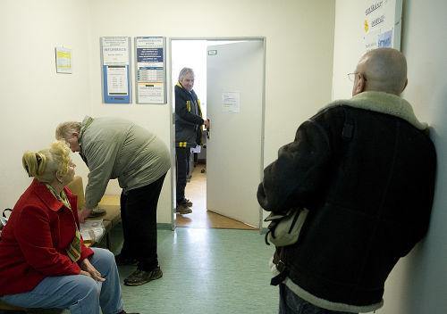 Čekárna u lékaře - ilustrační foto