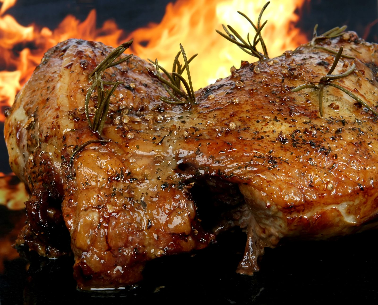 Pečeně, jídlo, strava, maso