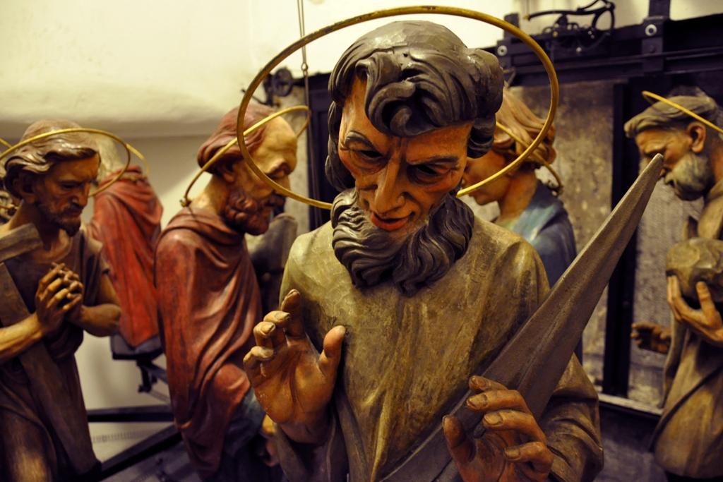 Apoštolové na pražském orloji
