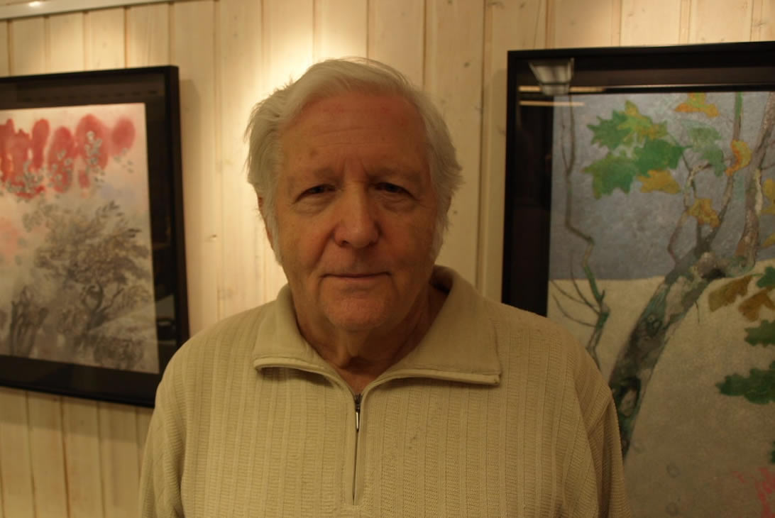 Malíř a restaurátor František Makeš