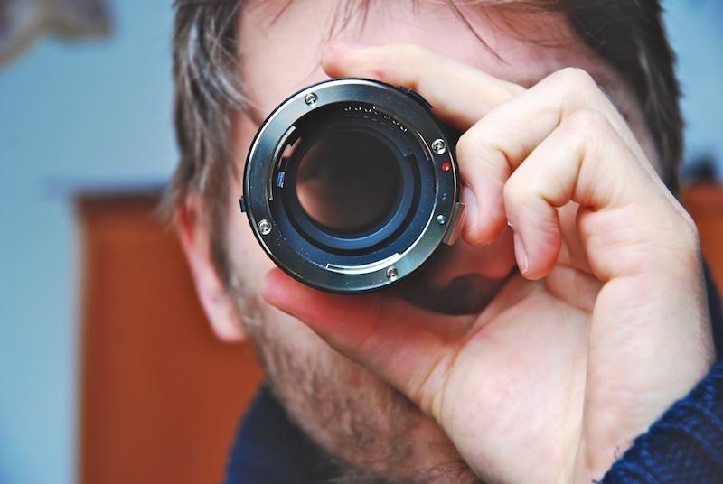 špion, špionáž, dalekohled, sledování