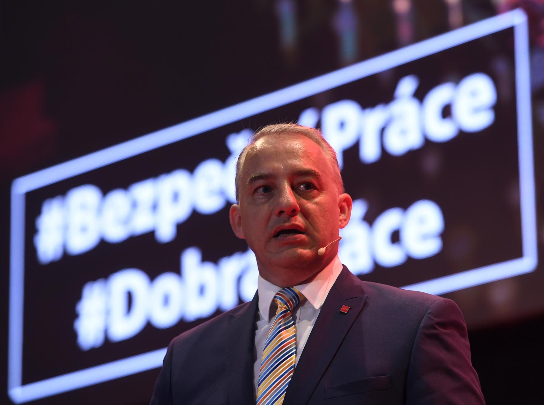 Josef Středula, předseda ČMKOS