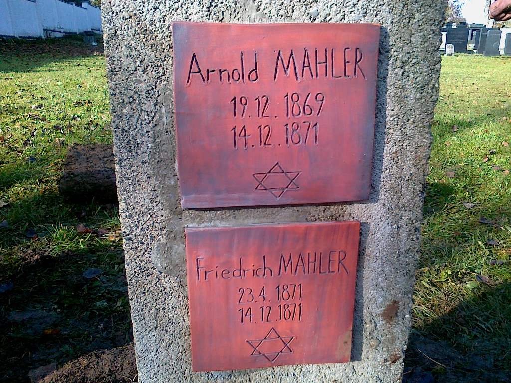 Hrob sourozenců Gustava Mahlera