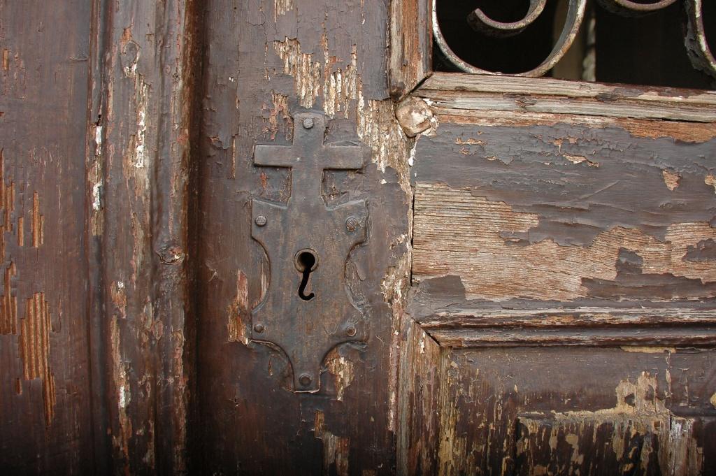 Dveře od kapličky