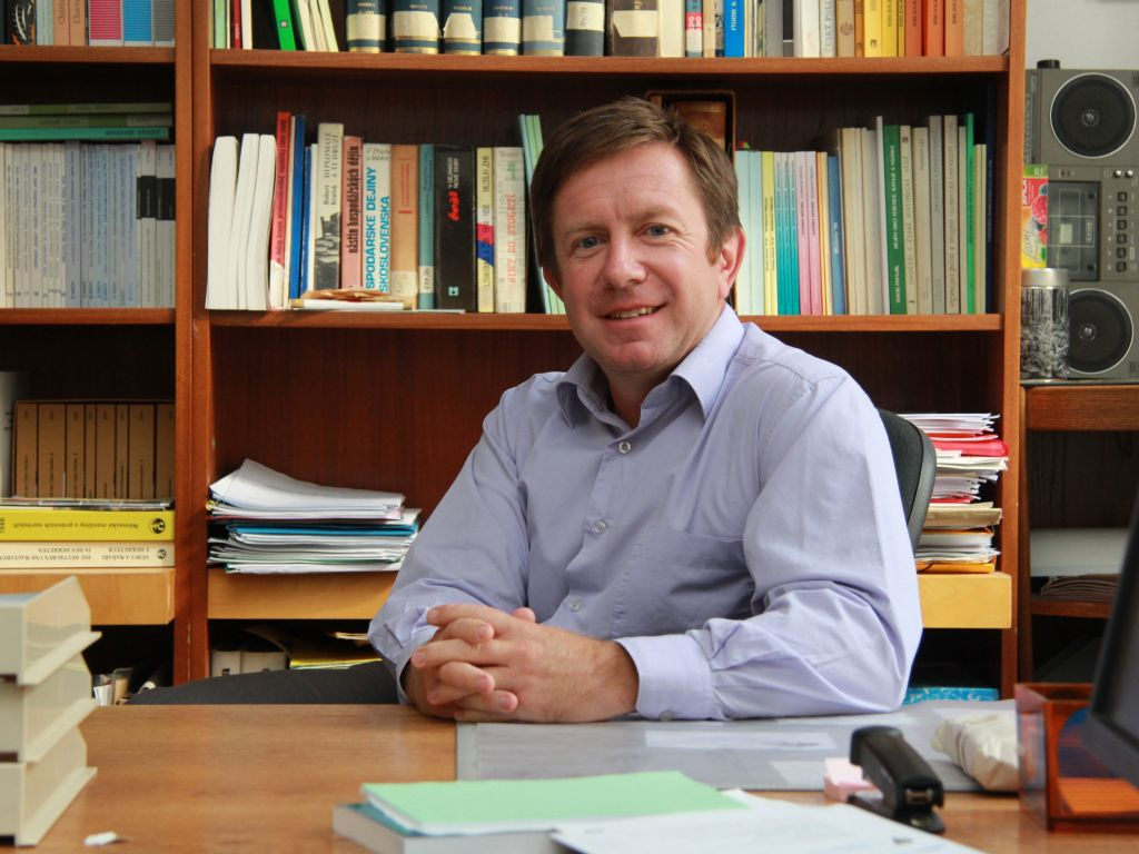 Rektor Univerzity Palackého Jaroslav Miller