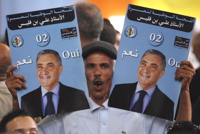 Prezidentské volby v Alžírsku