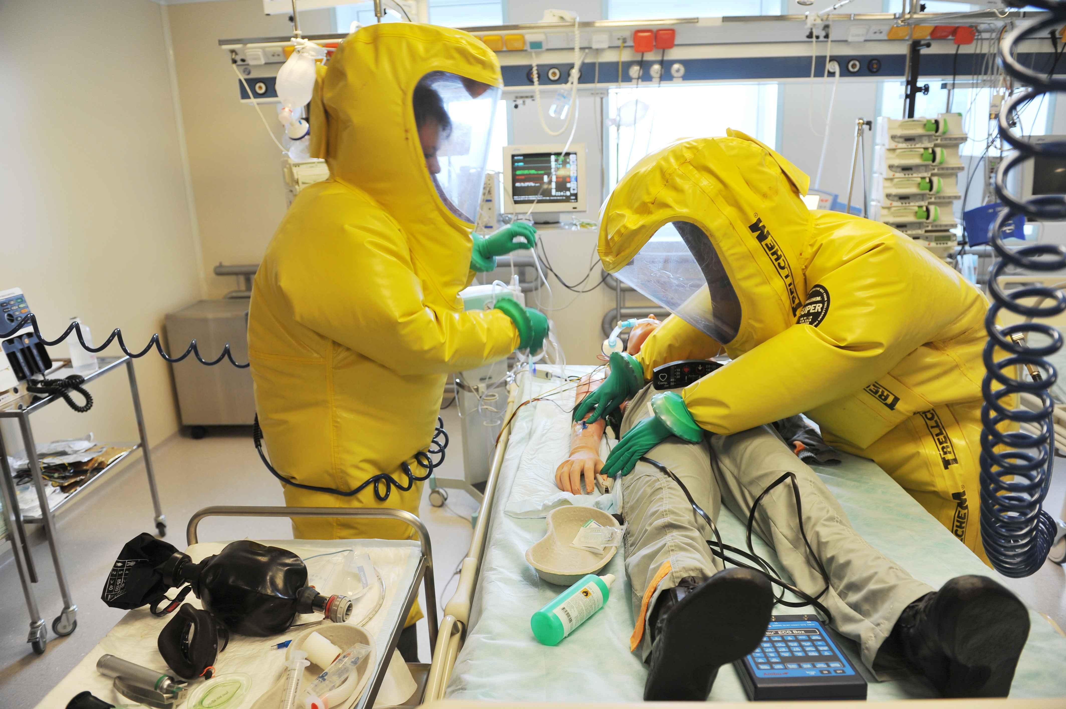 V Těchoníně ošetřují pacienty s vysoce nakažlivými nemocemi. Právě tady by se mohla léčit ebola