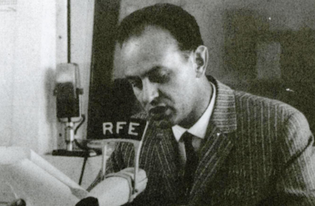 Jiří Kovtun jako redaktor Svobodné Evropy