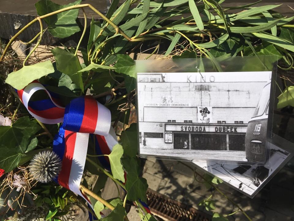 Připomínka srpna 1968 ve Zlíně