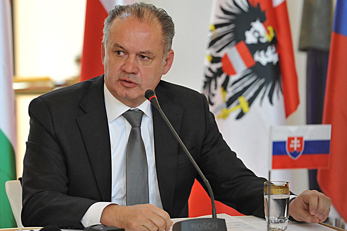 Visegrádská čtyřka, Andrej Kiska