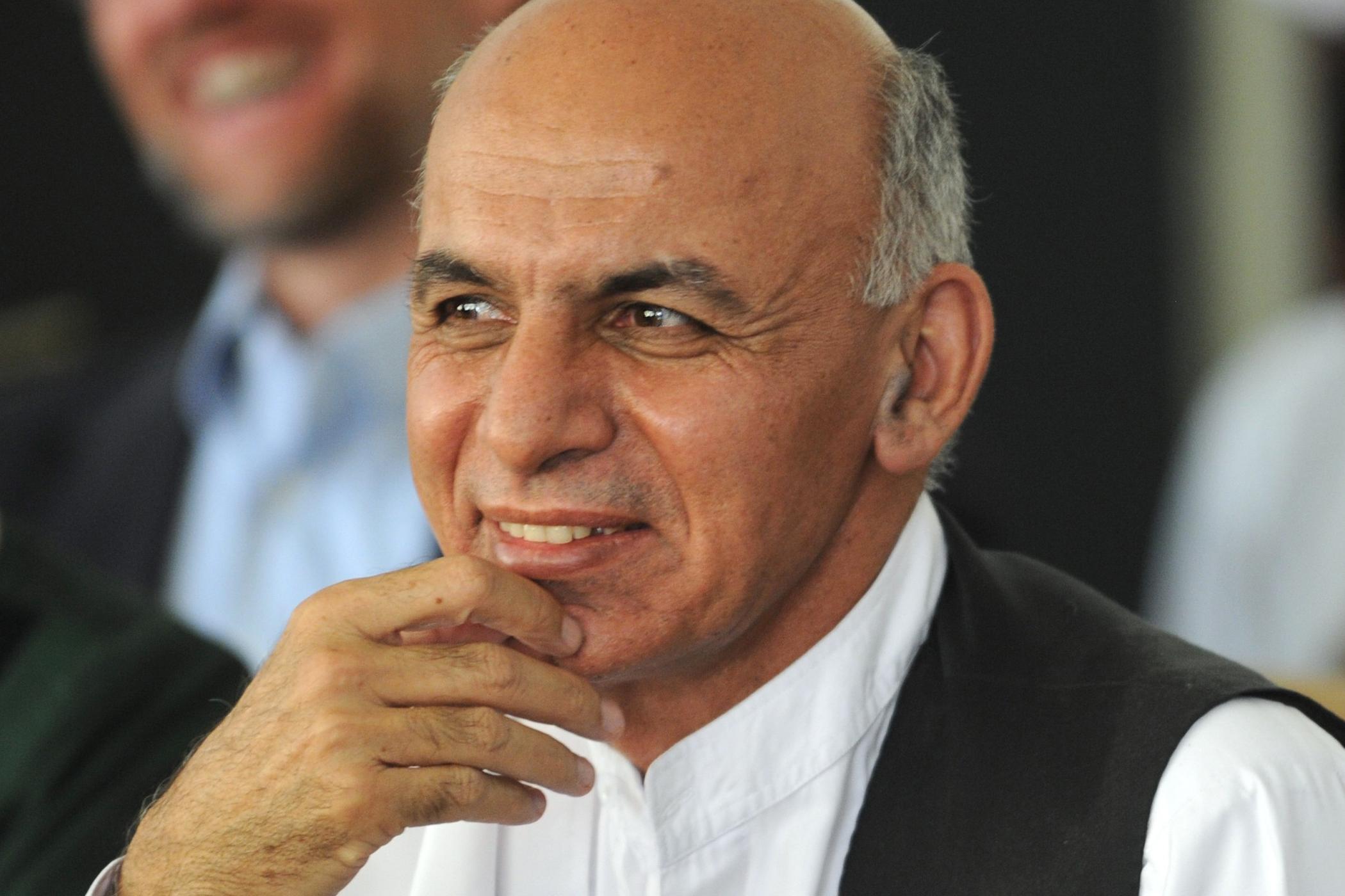 Afghánský prezident Ašraf Ghaní