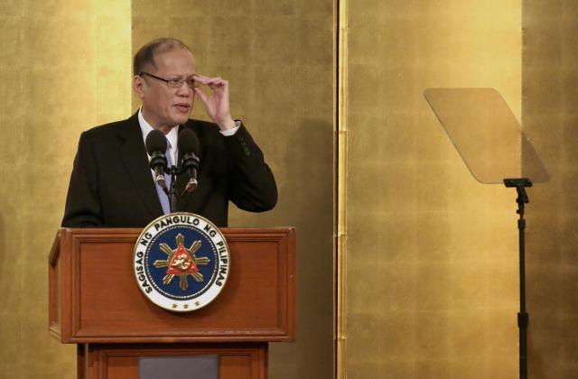 Filipíský prezident Benigno Aquino