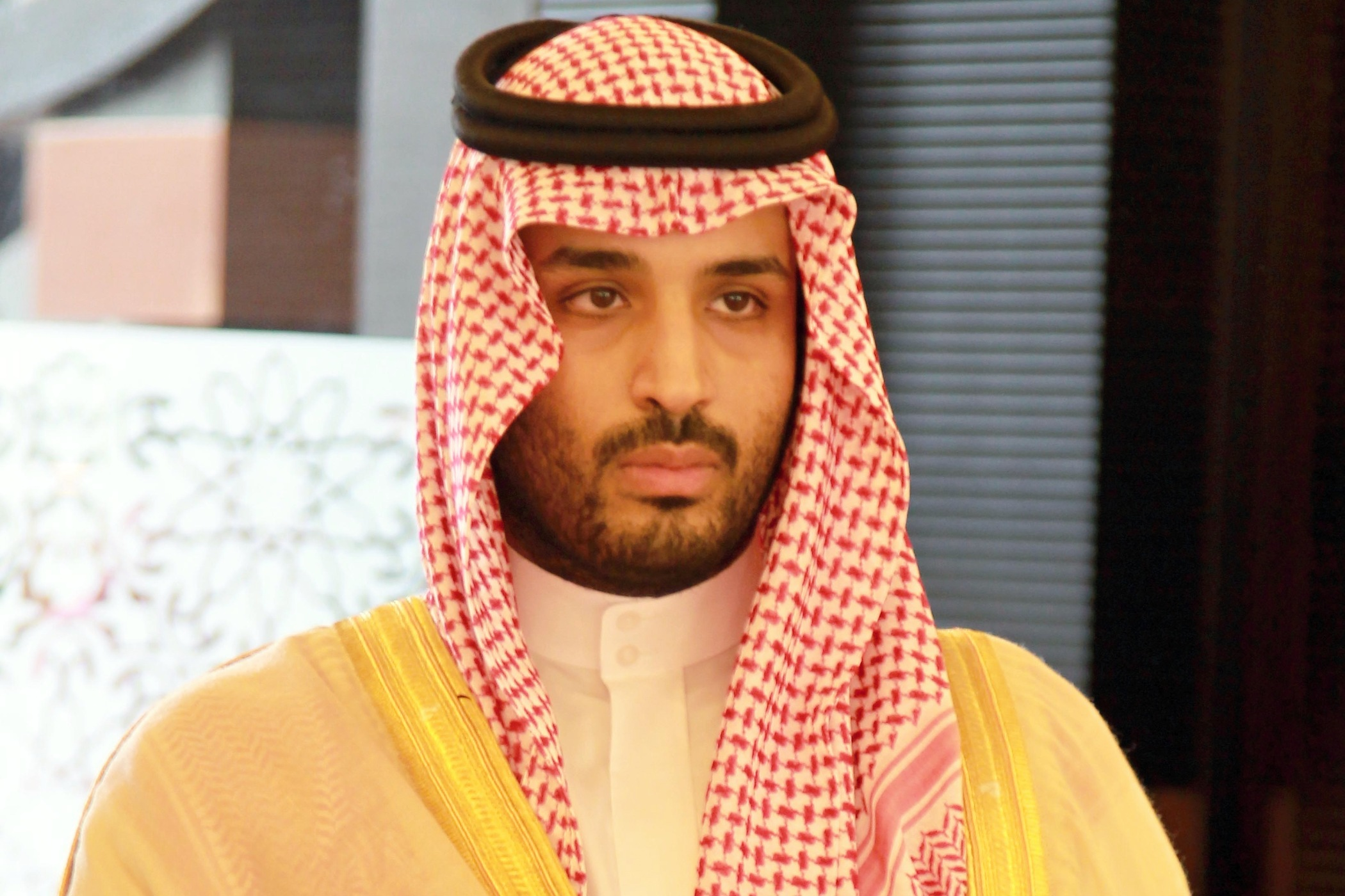 Mladý saúdskoarabský princ Muhammad bin Salmán, výřez