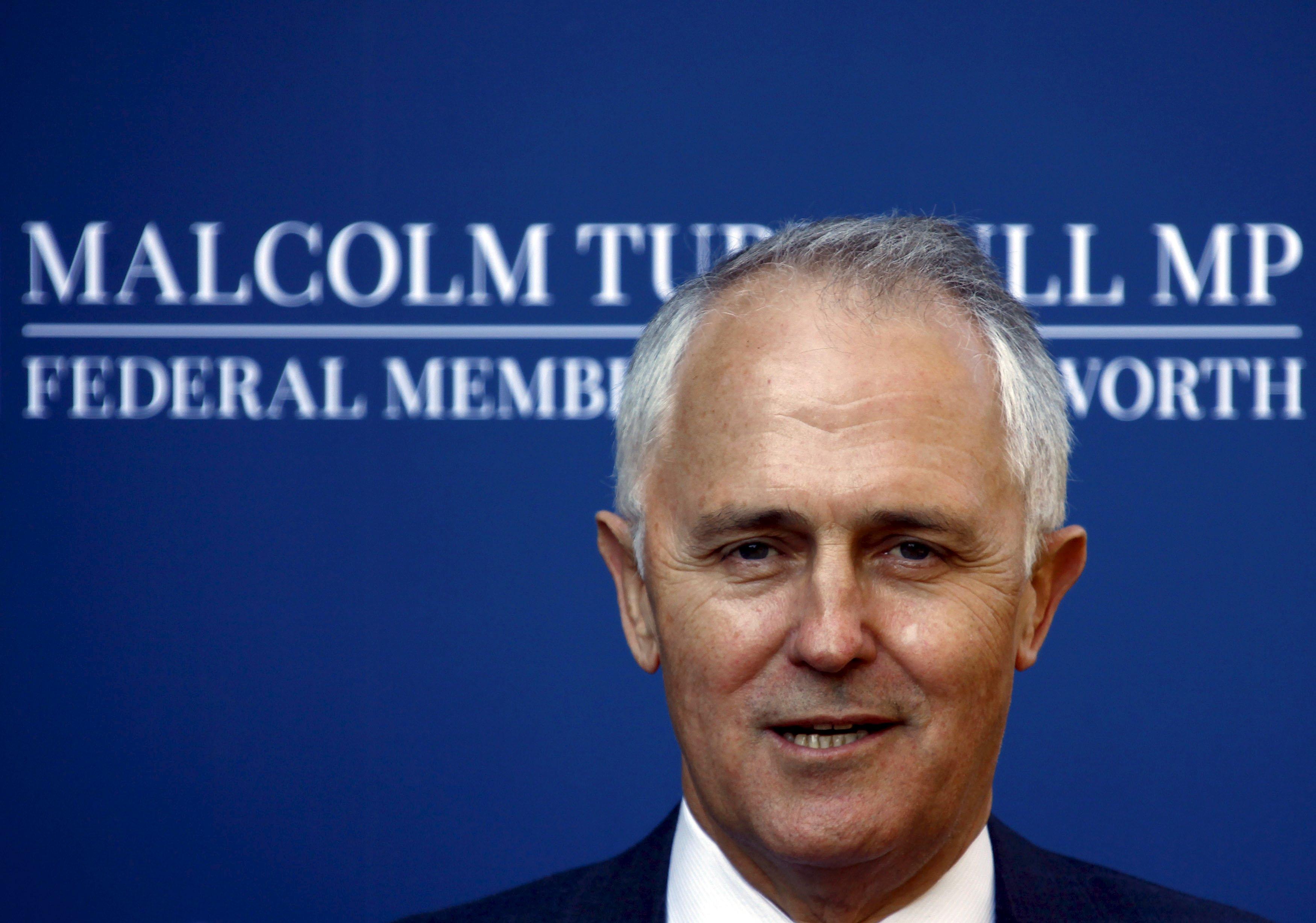Malcolm Turnbull nahradí ve funkci premiér Abbotta, který byl v úřadu od voleb v roce 2013 (ilustrační foto)