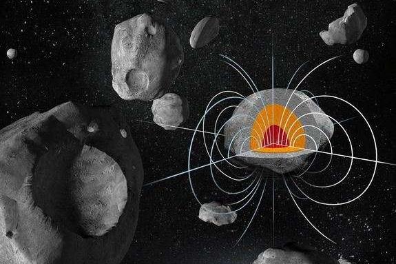 Asteroid Psyché má zřejmě silné magnetické pole
