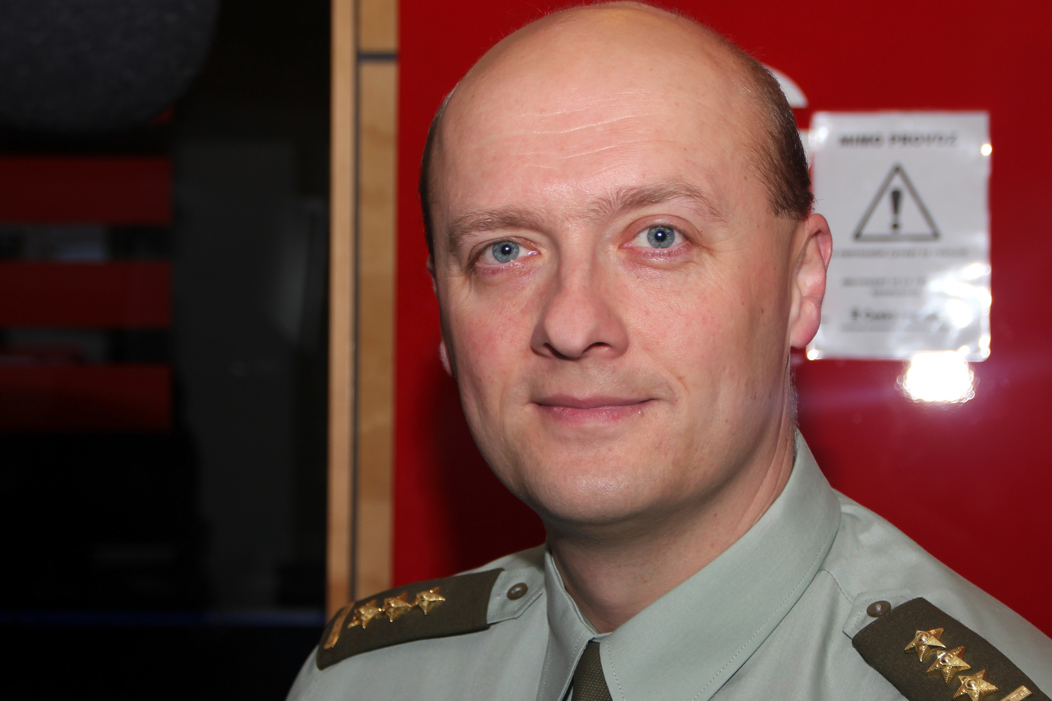 Hlavní kaplan Armády ČR Jaroslav Knichal