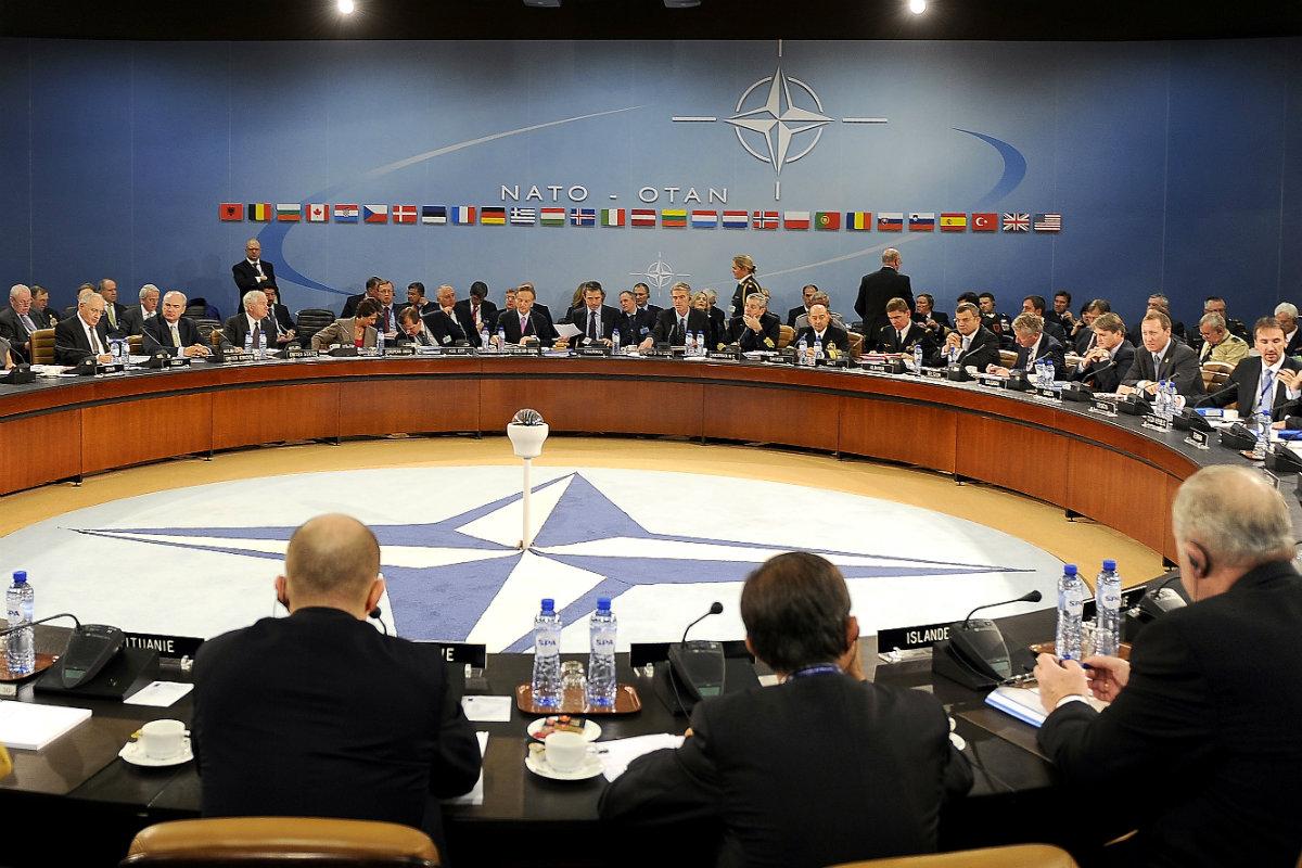 Zasedání Severoatlantické rady, nejvyššího orgánu aliance