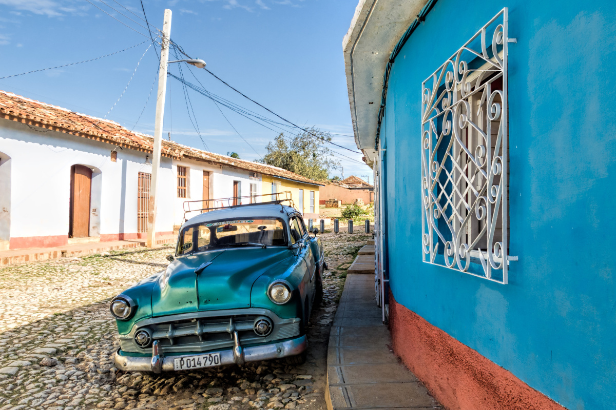 Auto na Kubě