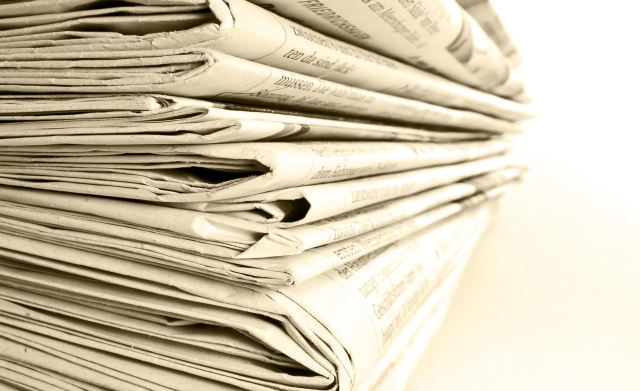 Noviny (ilustrační foto)