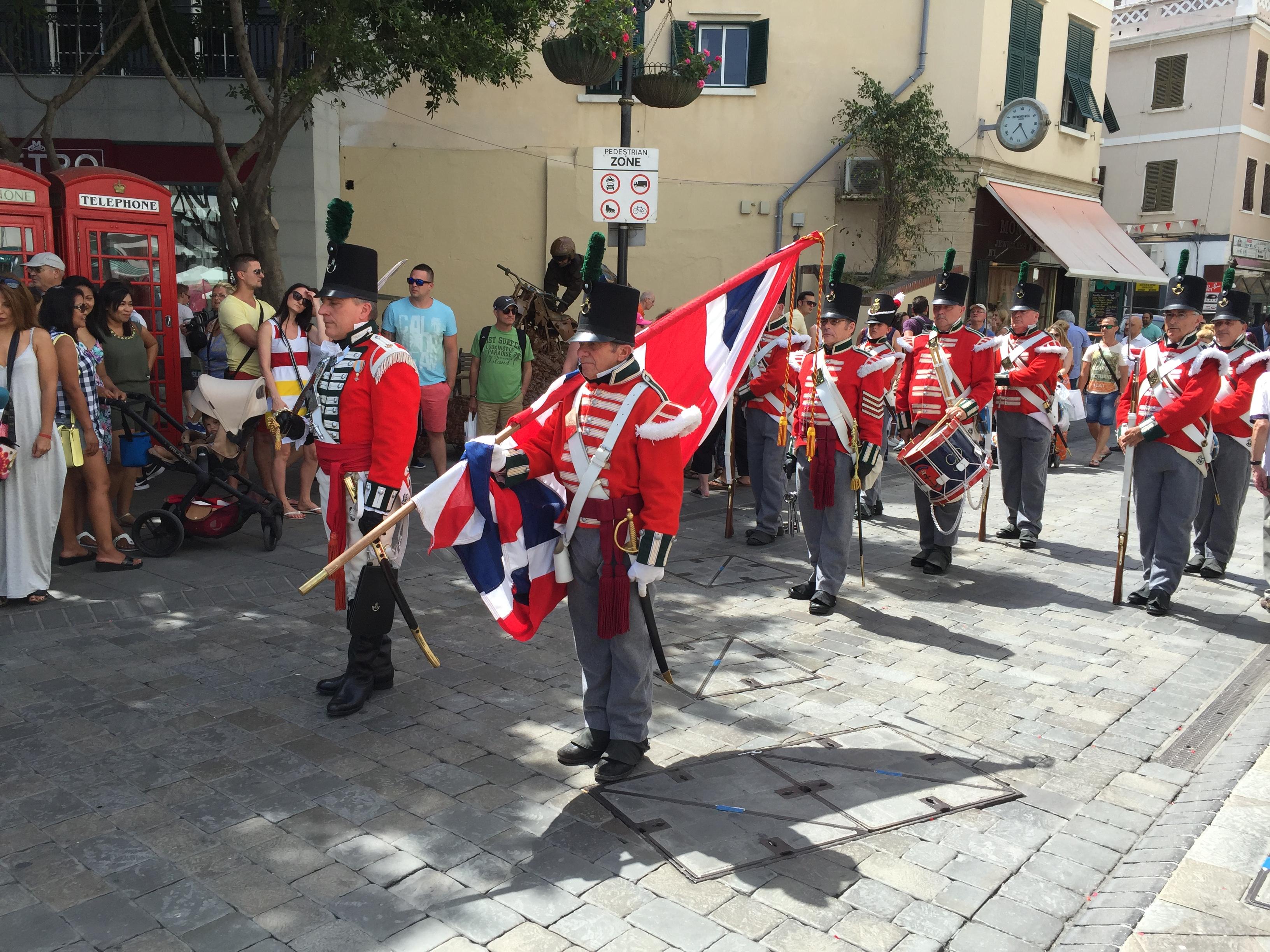 Gibraltarské střídání stráží