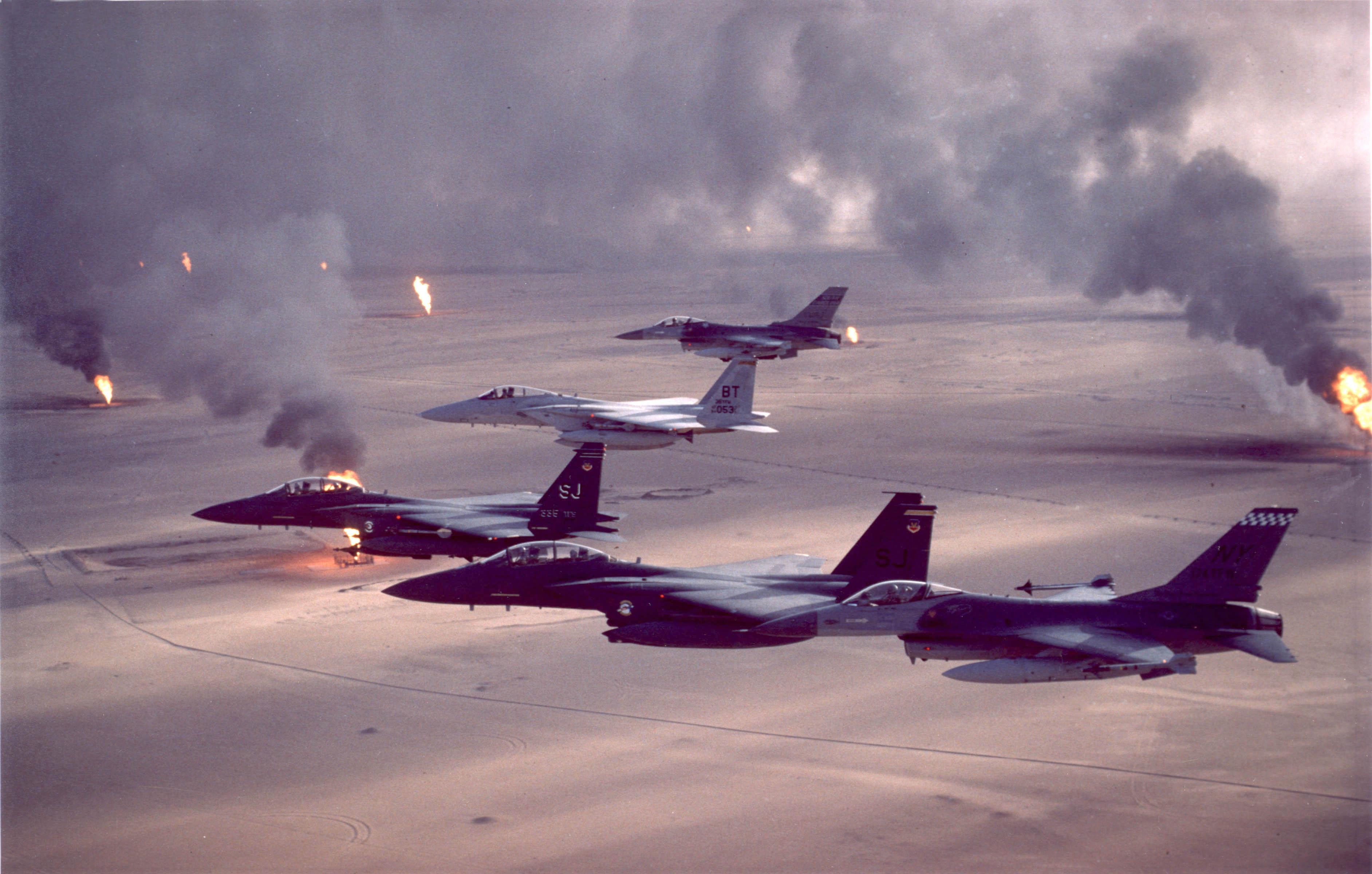 USAF letouny ve Válce v Perském Zálivu