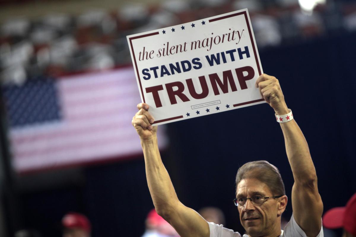 Příznivec Donalda Trumpa