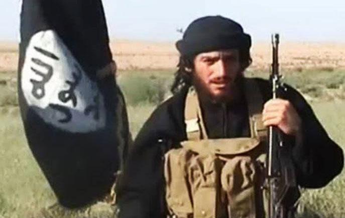 Mluvčí Islámského státu Abů Muhammad al-Adnani