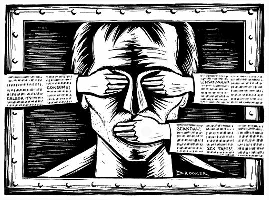 Cenzura (ilustrační foto)