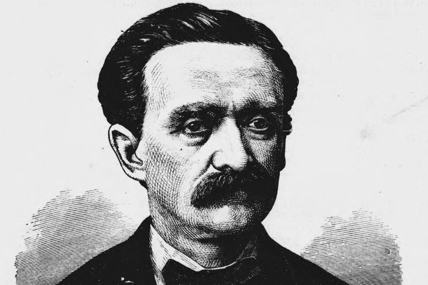 Karel Sabina v roce 1871