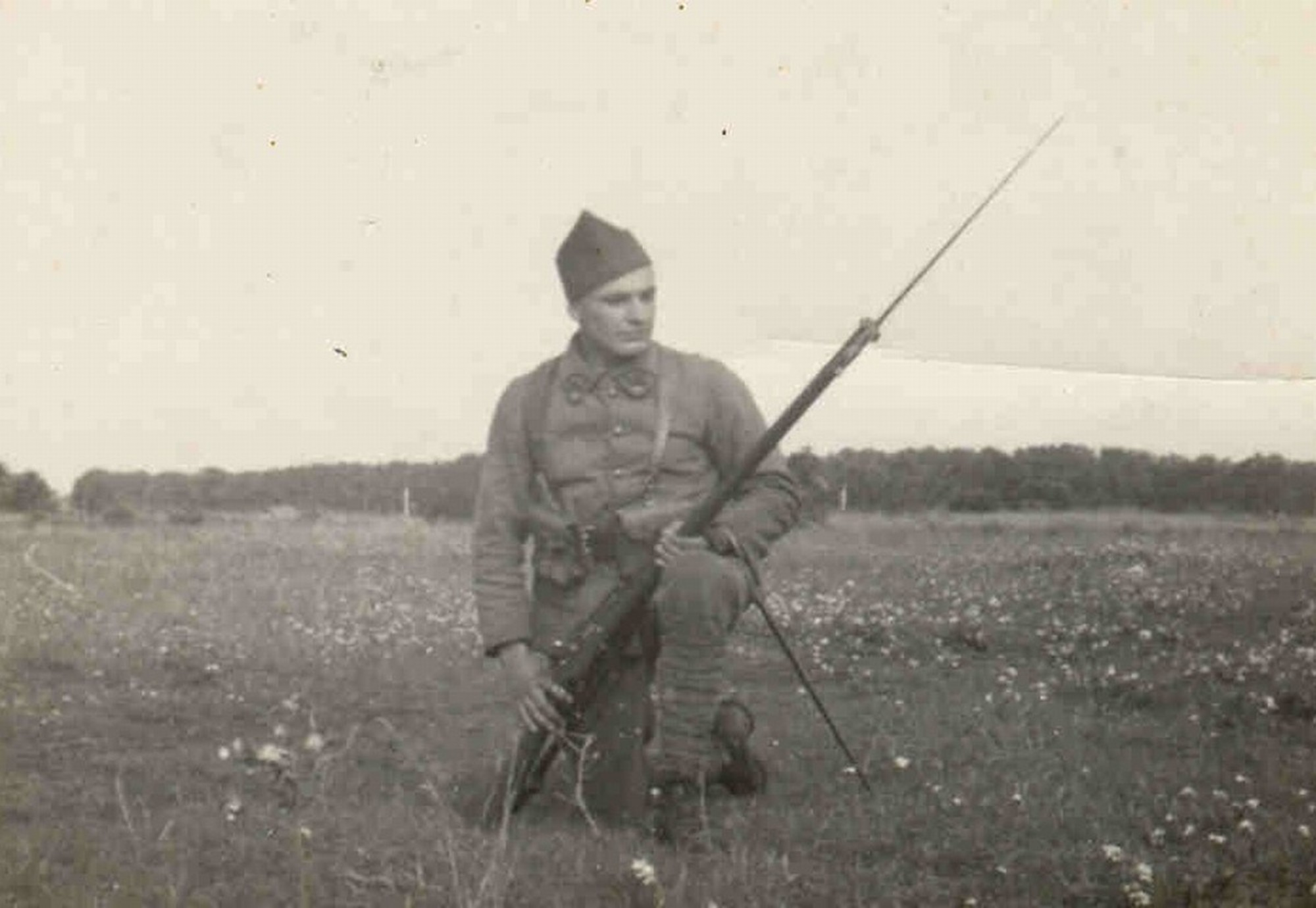 Ján Bačík ve Francii - 1940
