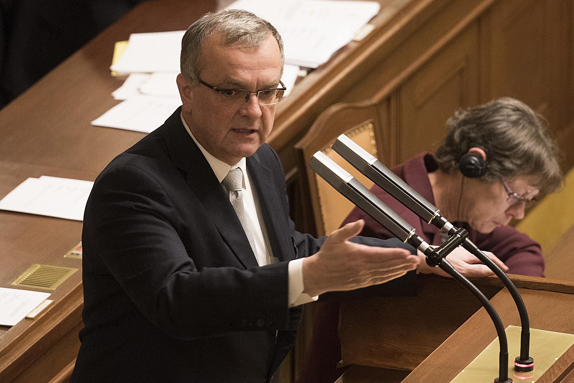 Poslanecká sněmovna, Miroslav Kalousek