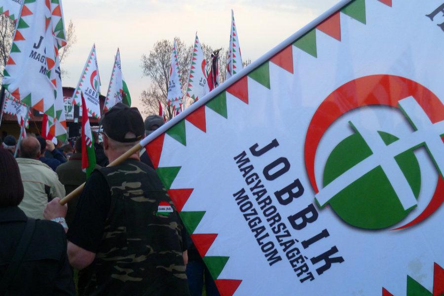 Shromáždění maďarské strany Jobbik – Hnutí za lepší Maďarsko
