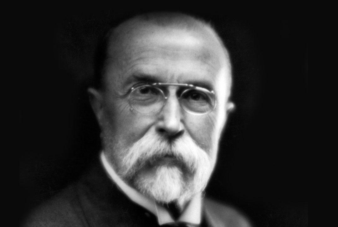 TGM (Tomáš Garrigue Masaryk) v roce 1920