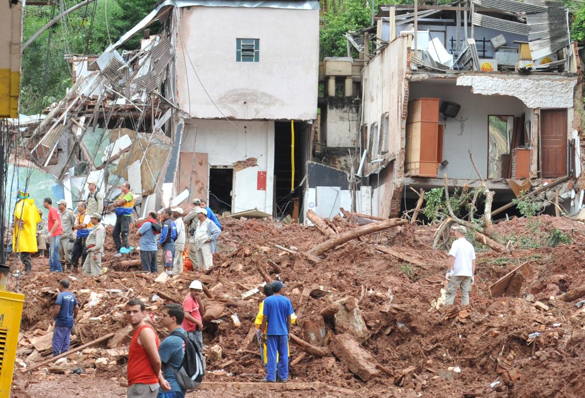 sesuv půdy v Kolumbii