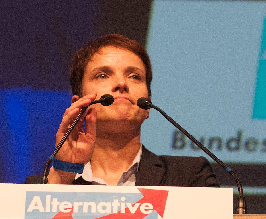Frauke Petryová, šéfka krajně pravicové AfD