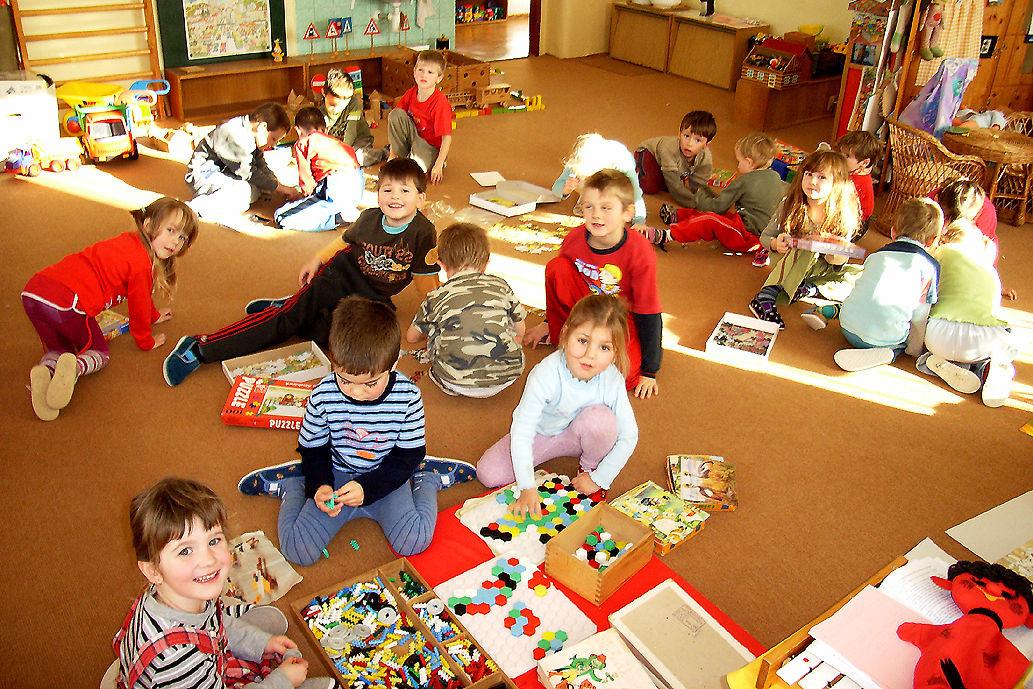 Děti v mateřské školce (ilustrační snímek)