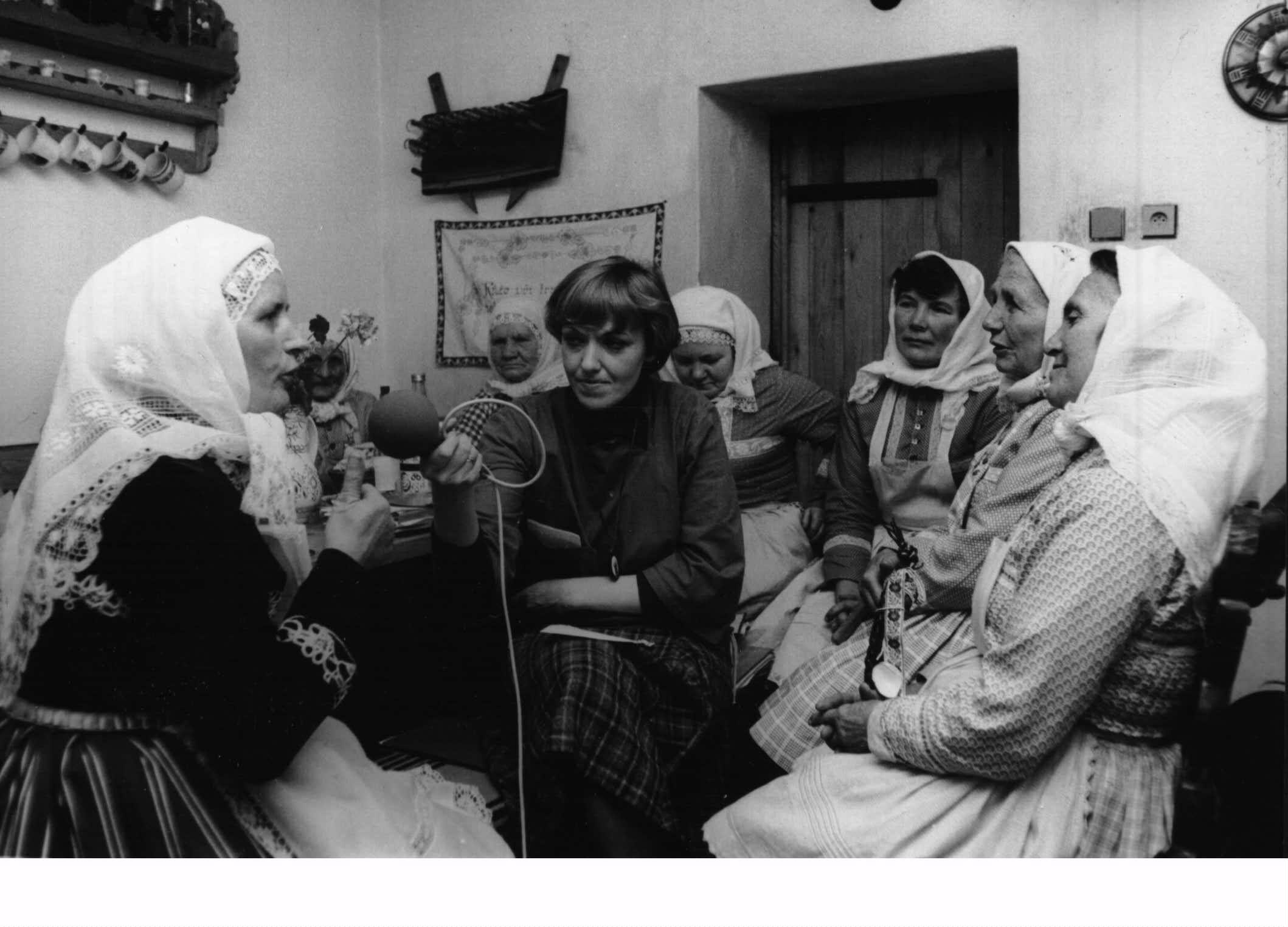 Rozhovor o velikonočních zvycích, rok 1984